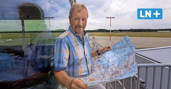 Flughafen Lübeck: Deutschlands ältester Fluglotse geht von Bord
