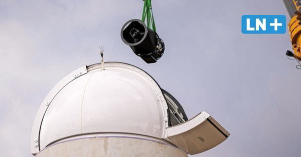 Sternwarte: Das Teleskop ist da – Eröffnung im Herbst geplant