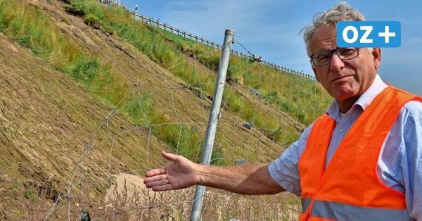Jahrhundertregen auf Rügen: Experten zum Ausmaß der Schäden an der B 96