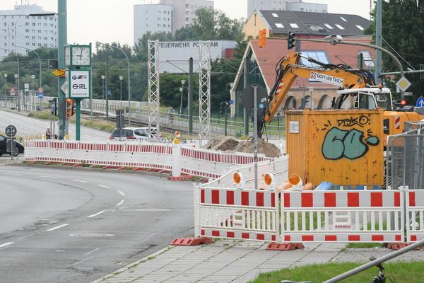 Die Behlertstraße wird saniert. Foto: Bernd Gartenschläger