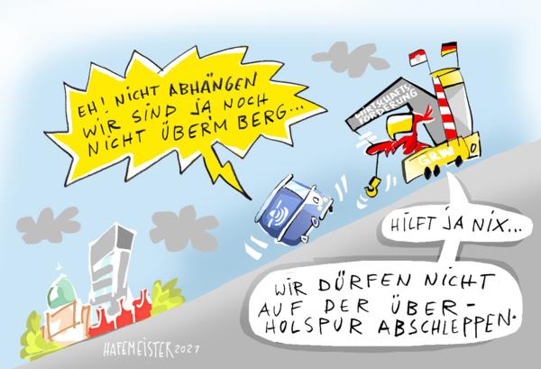 Karikatur von Jörg Hafemeister.
