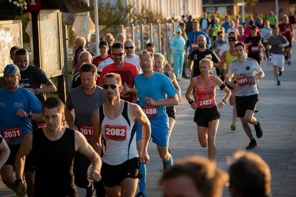 Laufstrecke auf der Promenade (Foto: Torsten Dunkelmann)