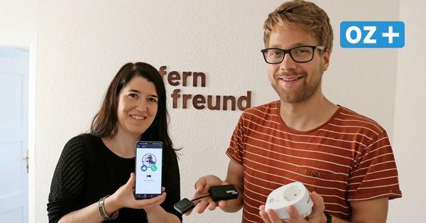 Hilfe für Familien: Start-up-Unternehmen aus Bad Doberan erfindet Fernfreund