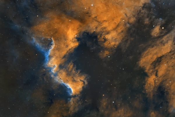 Image of the Pelican Nebula, taken by Gian Lorenzo Ferretti from University Village and posted on his Instagram May 21.   Courtesy of Gian Lorenzo Ferretti