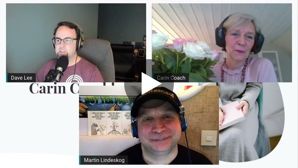 Inspirational Podcasting with Martin Lindeskog & Carin Bladh (Sweden)