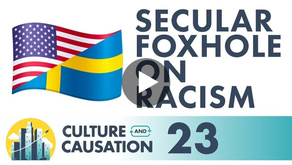 Blair Schofield and Martin Lindeskog on Racism in the U.S. and Sweden | Culture and Causation Ep 23
