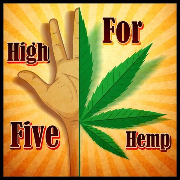 Artwork for High Five for Hemp podcast