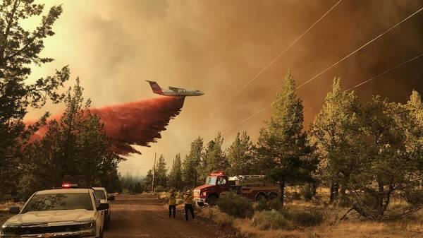Kalifornien: Waldbrand breitet sich nahe Yosemite-Nationalpark aus