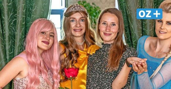 Wie im Märchen: Wie diese Prinzessinnen aus Rostock jeden Kindergeburtstag verzaubern