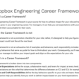 Dropbox Engineering Career Framework