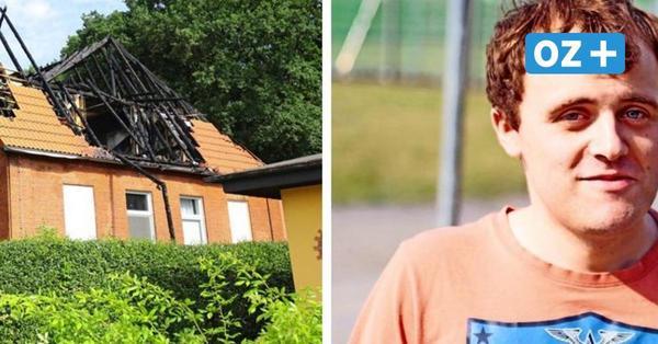 """Mieter nach Großbrand in Stralsund: """"Habe fast alles verloren"""""""