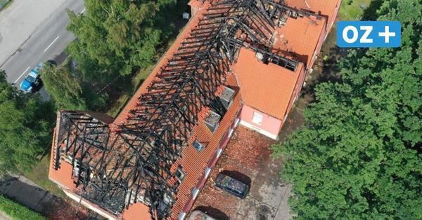 Nach Wohnhausbrand in Stralsund: Gutachter geht von Brandstiftung aus