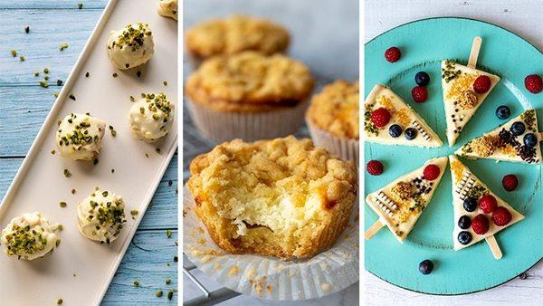 Als Praline oder Muffin: vier kreative Käsekuchenvarianten zum Nachbacken