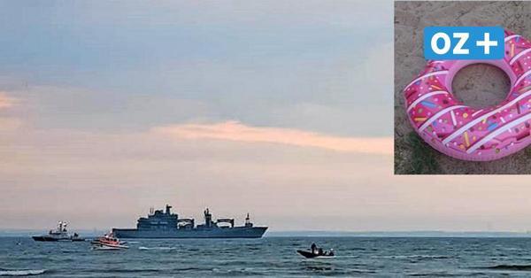 Bei Barendorf: Herrenloser Badering löst Suchaktion auf der Ostsee aus