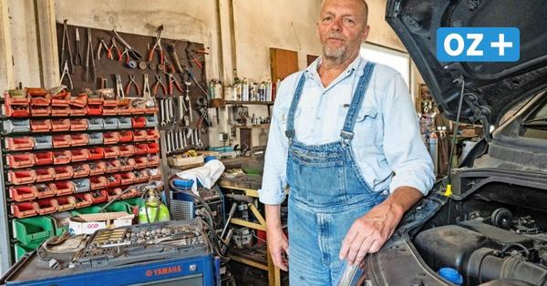 """Kemnitz: Kfz-Meister sucht vergeblich Nachfolger: """"Es tut weh, den Betrieb dichtzumachen"""""""