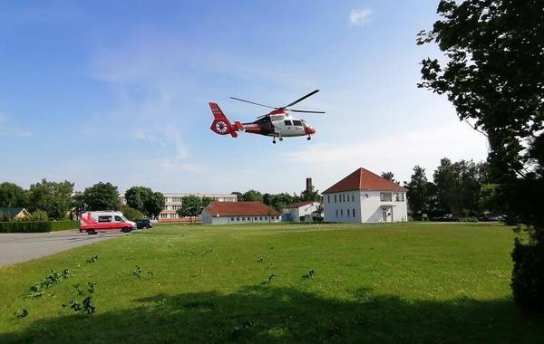 Johanniter im Einsatz (Foto: Corinna Schaak)
