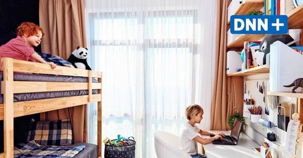 Wohnungsgröße, Dusche, Kinderzimmer: So wohnt Dresden