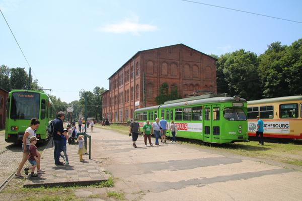 Erst am 4. Juli konnte das Straßenbahnmuseum in die neue Saison starten. (Foto: Konstantin Klenke)