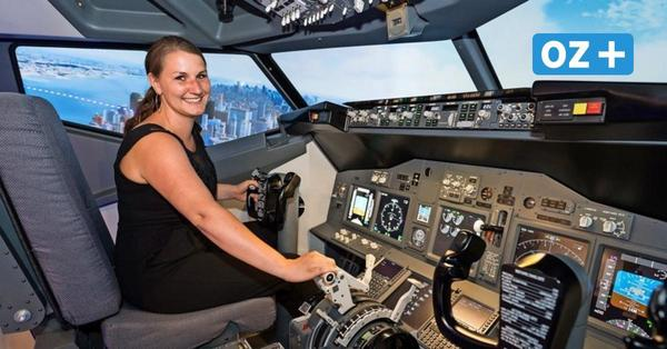 Einmal Boeing 737 fliegen: Wie sich das in einem Flugsimulator in Rostock anfühlt