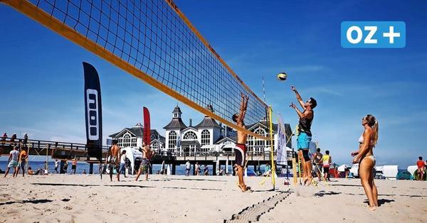 Sport an Strand: Zwei Beachvolleyballturniere in Sellin und Thiessow