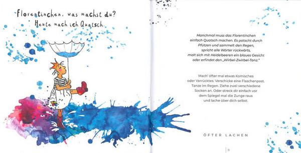 """Blick ins Buch """"Florentinchen und das Glück"""""""