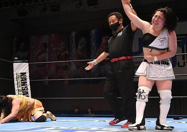 JTO: «Just Tap Out 2nd Anniversary» Tomoka Inaba gana el Queen of JTO