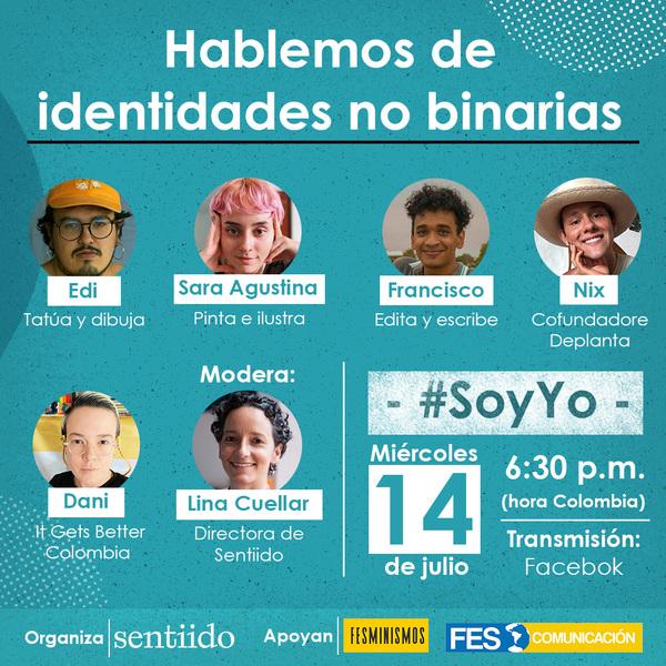 Haz click para ir a la página de Facebook de Sentiido, donde se transmitirá la charla.