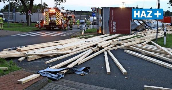Chaosfahrt auf A2-Rasthof Lehrter See bei Hannover: Lkw-Fahrer hatte 1,28 Promille