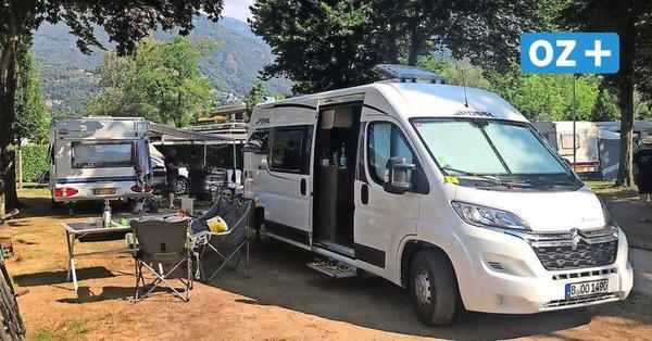 Suche nach gestohlenem Camper auf Rügen: Spur führt zu einem Imbiss
