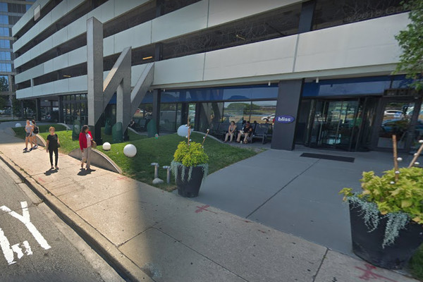 The exterior of the W Lakeshore Chicago Hotel at 644 N. Lake Shore Dr. | Google Maps