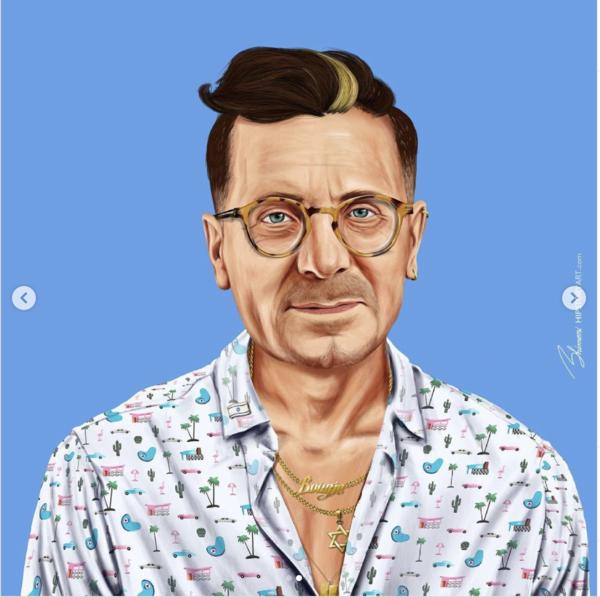 Jizchak Herzog, gesehen von Amit Shimoni