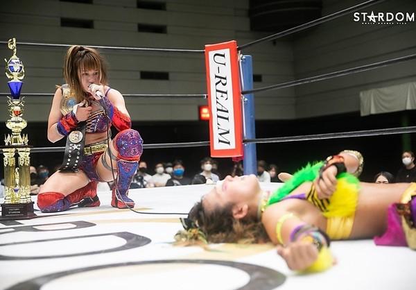 Stardom: «Cinderella Summer Tour 2021 in Osaka» Syuri se aferra a su cetro