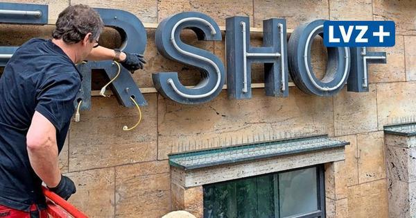 Vor H&M-Eröffnung: Leipziger Petershof bekommt Lichtkunstwerk