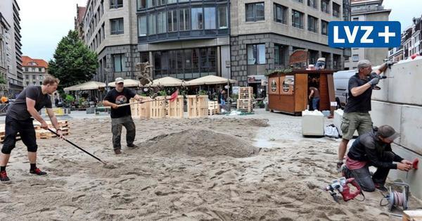 """Aktion zur Wiederbelebung der Leipziger City: """"Familiensommer Burgplatz"""" startet und wird für vier Wochen zum Treffpunkt"""