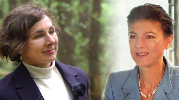 Gespräche mit Sahra Wagenknecht und Juli Zeh - SWR Fernsehen