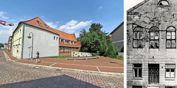 Fassade der alten Segeberger Synagoge wird wieder aufgebaut – aus Stahl