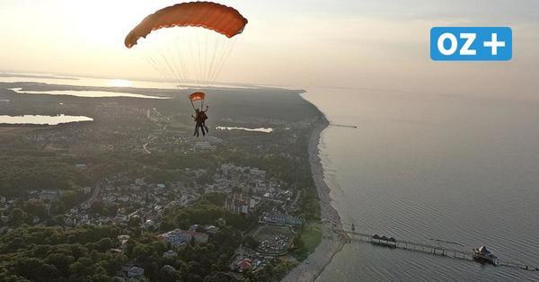 Usedom: Fallschirmspringen – darum ist das Hobby über der Insel besonders schön