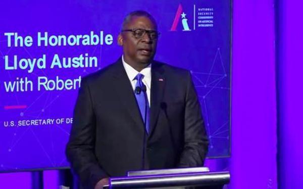 US Defense Secretary Lloyd Austin touts AI tech as key to help prevent future wars
