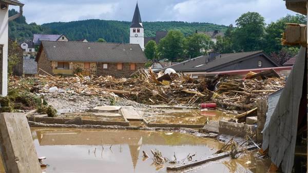 Häuser eingestürzt, Dutzende Tote: das Ausmaß der Hochwasserkatastrophe in Deutschland