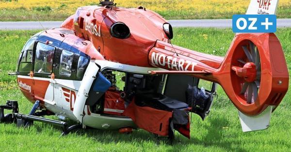 Schwerer Unfall auf Usedom: Fünf Verletzte – Stau wegen Sperrung der B110