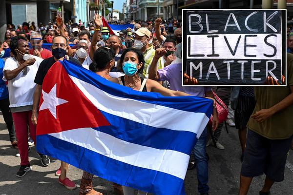 BLM under fire for defending Cuban regime, blaming protests on US