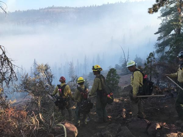 The Beckwourth Complex Fire (credit: CalFire/James Ruskin & Matt Caple)