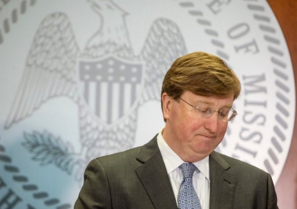 Mississippi's governor, Tate Reeves. (Photo: Eric J. Shelton/Mississippi Today, Report For America