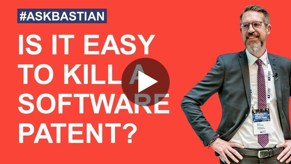 How to invalidate a software patent? #askbastian