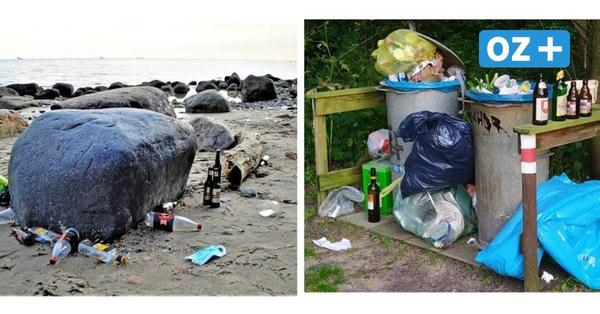 OZ-Kolumne von Rügen: Müll-Stillleben am Strand