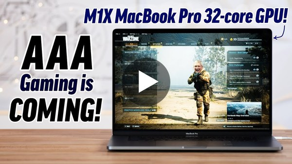 How Apple will FIX Gaming with M1X MacBook Pros!