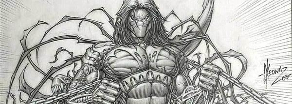 Dale Keown - The Darkness Original Cover Art