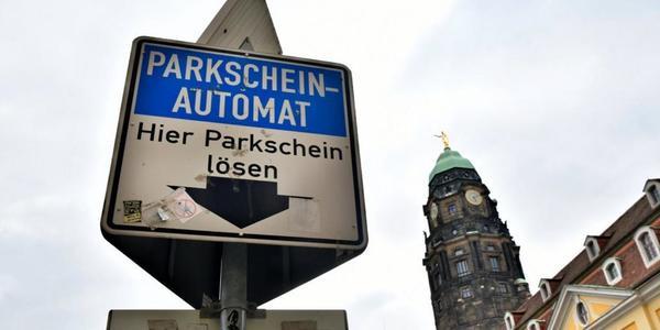Dresden: Parkschein online zahlen mit EasyPark