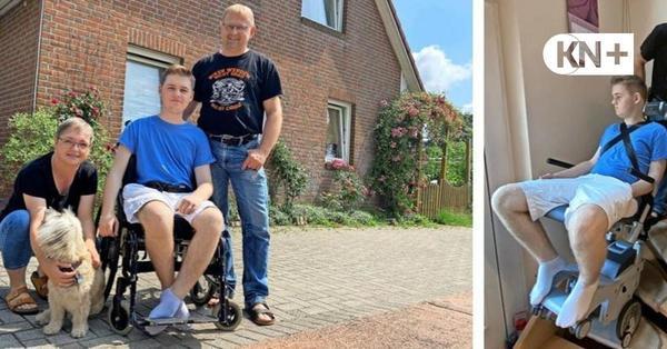 Hilfe für Simon Möller aus Rickling auf Weg zur Barrierefreiheit