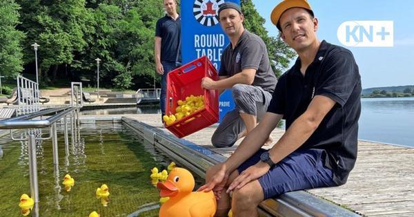 Wieder ein Entenrennen auf dem Großen Segeberger See